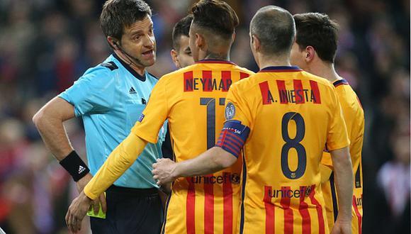 Barcelona fue eliminado de la Champions 2016 por el Atlético de Madrid. (Getty)