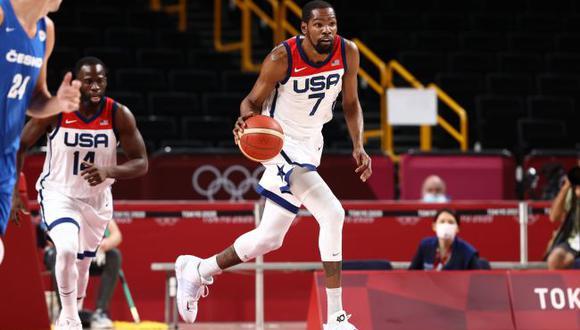 Kevin Durant se convirtió en máximo anotador del Team USA en los Juegos Olímpicos. (Difusión)
