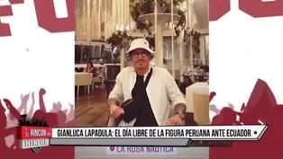 El descanso de Lapadula: así vivió su día libre tras el triunfo de Perú sobre Ecuador