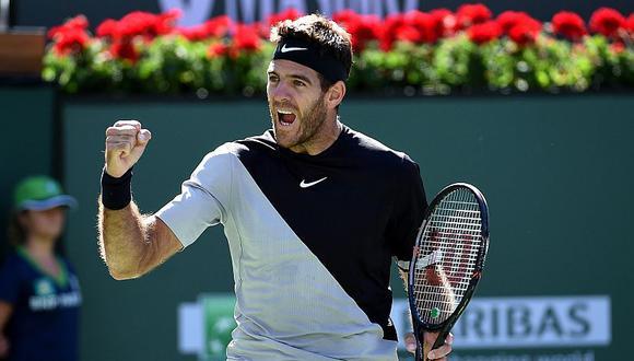 Del Potro ha ganado 6 de los 24 encuentros que disputó ante Federer. (AFP)