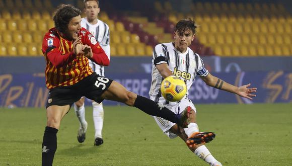 Juventus empató ante Benevento con gol de Morata. (Foto: Reuters)
