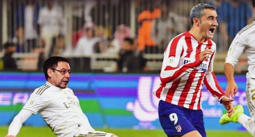 Los memes que dejó el despido de Ernesto Valverde en Barcelona. (Foto: Difusión)