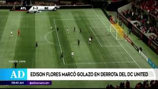 Edison Flores se luce con golazo desde fuera del área en la MLS