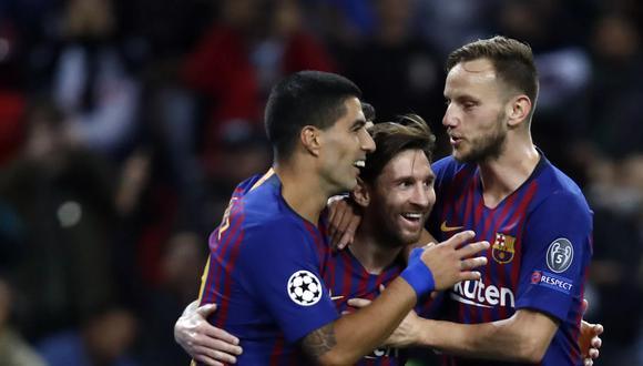Rakitic aclaró cómo era su relación con Messi y Suárez en el Barcelona. (Foto: Getty)