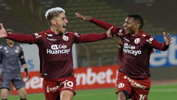 Universitario de Deportes empató 2-2 con Carlos A. Mannucci en cancha. (Foto: Liga 1)