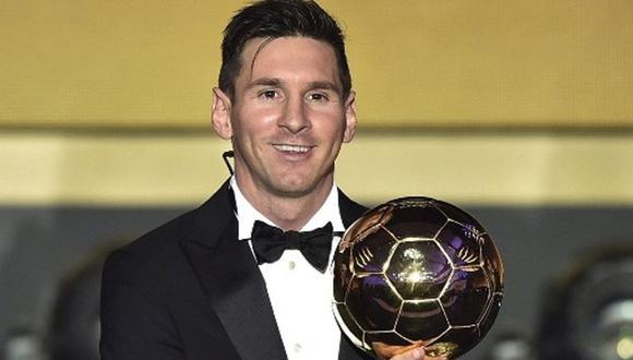 Lionel Messi tiene cinco Balones de Oro en su carrera. (Getty)