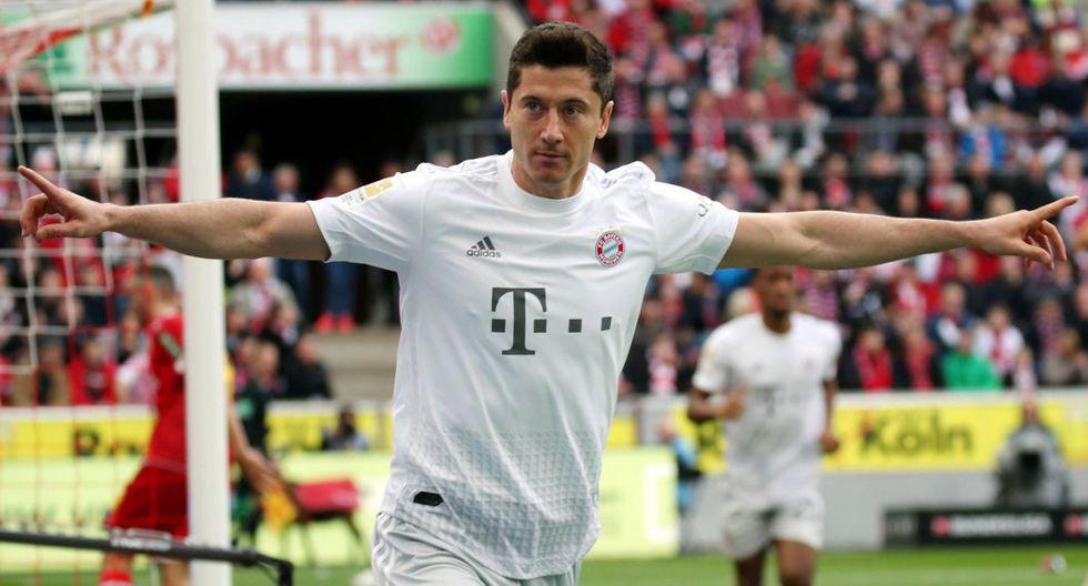 Bayern Munich venció 4-1 a Colonia por la fecha 22 de Bundesliga 2020. (AFP)
