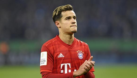 Philippe Coutinho ha marcado ocho goles en la presente Bundesliga.  (Foto: Getty Images)