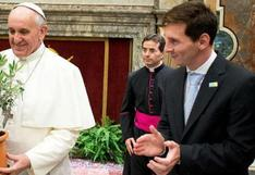'D10S' sorprende al Papa Francisco: el regalo especial que Messi envió al Vaticano