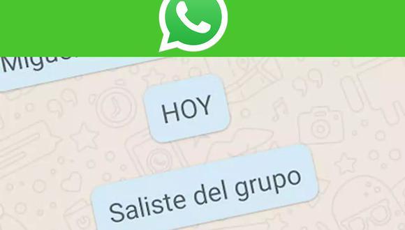 Conoce cómo poder salir de un grupo de WhatsApp sin que nadie se de cuenta. (Foto: Net.tv)