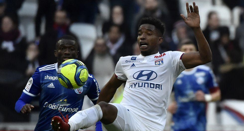 4. Thiago Mendes (Lyon): 4.24 promedio en 21 partidos. (Foto: AFP)