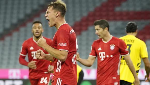 Alemania: Bayern vs. Dortmund: ver resumen, goles, estadísticas y mejores  jugada | NOTICIAS DEPOR PERÚ