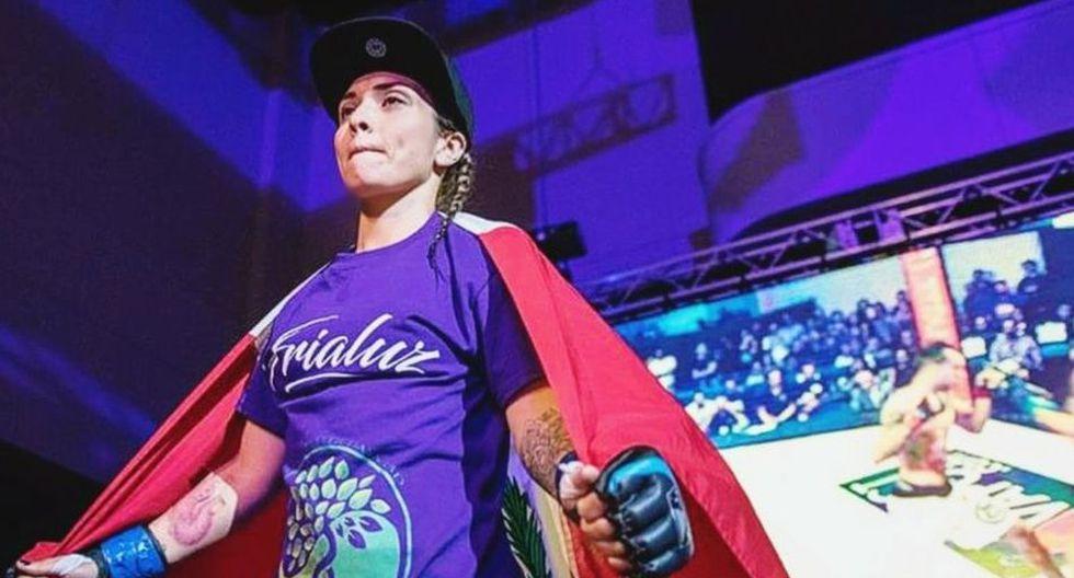 Andrea Soraluz pertenece al equipo de American Top Team Wolfpack y Stay Ready Atheltics. (Facebook)