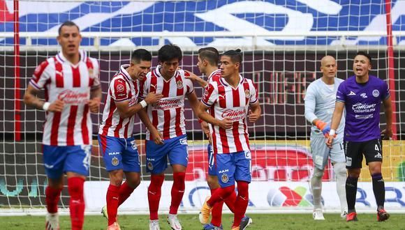 Jose Macias marcó su cuarto gol en el Torneo Guard1anes 2020. (Foto: Chivas)