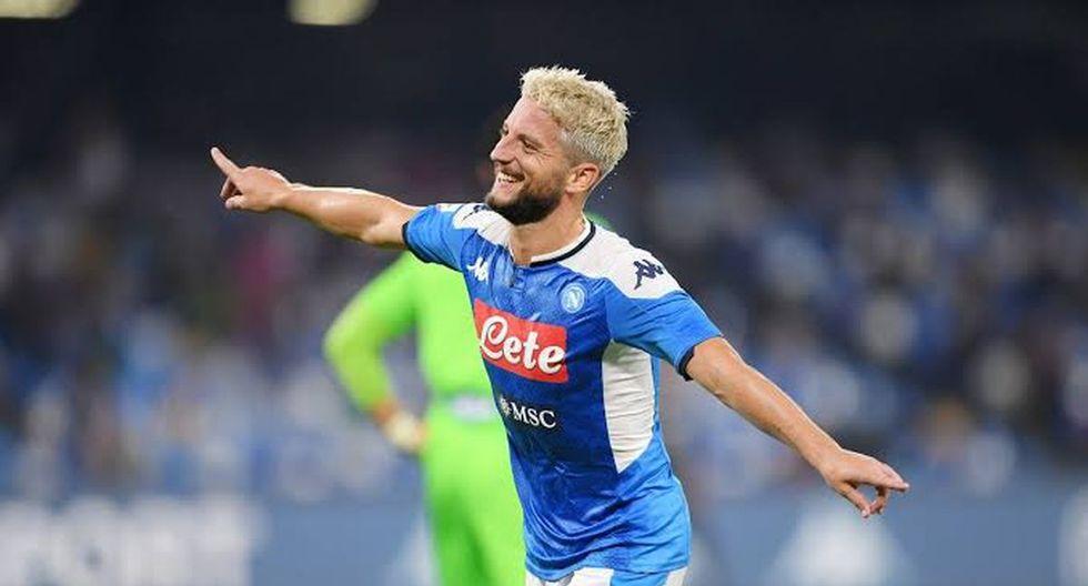 15. Dries Mertens del Napoli - 3 goles. (Foto: Getty)