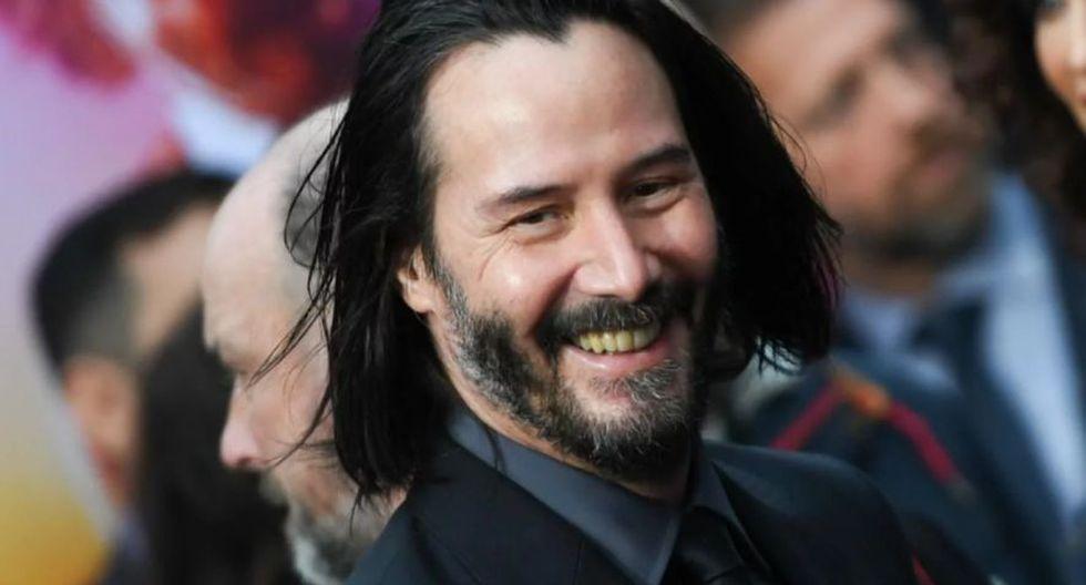 "Keanu Reeves es el protagonista de la saga ""John Wick"" (AFP)"