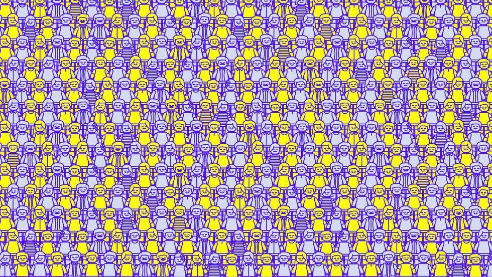 Halla un robot, un pirata y un esqueleto entre las decenas de figuras. (Televisa)