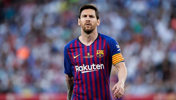 Lionel Messi debutó como profesional en el Barcelona en el 2004. (Getty)