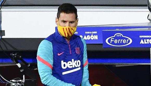 Lionel Messi tiene contrato con Barcelona hasta el 30 de junio del 2021. (Foto: AFP)