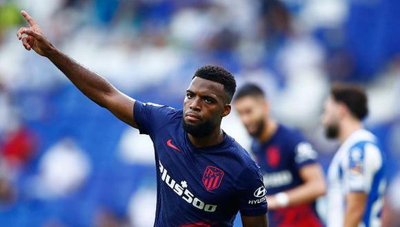 Atlético de Madrid venció a Espanyol con un gol de Lemar en el último minuto del partido. (Getty)