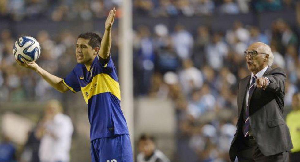 Riquelme se prepara para su despedida oficial del fútbol en la Bombonera. (Foto: AFP)
