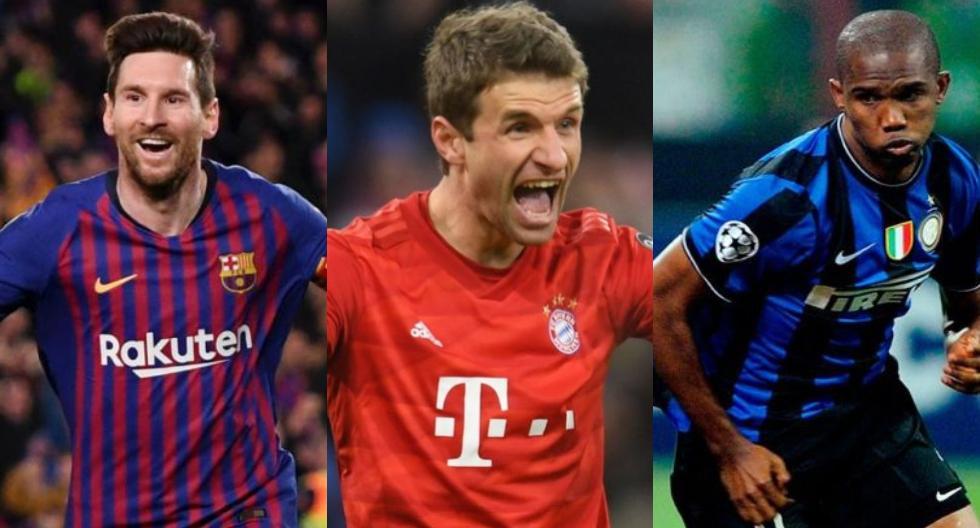 Los jugadores que lograron un triplete en dos ocasiones. (Foto: Agencias)
