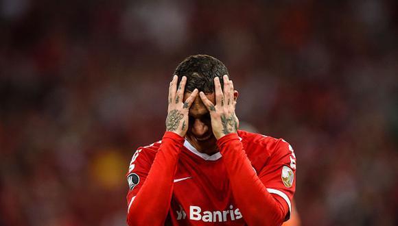 Paolo Guerrero llegó al Inter de Porto Alegre a inicios del 2019. (Getty)