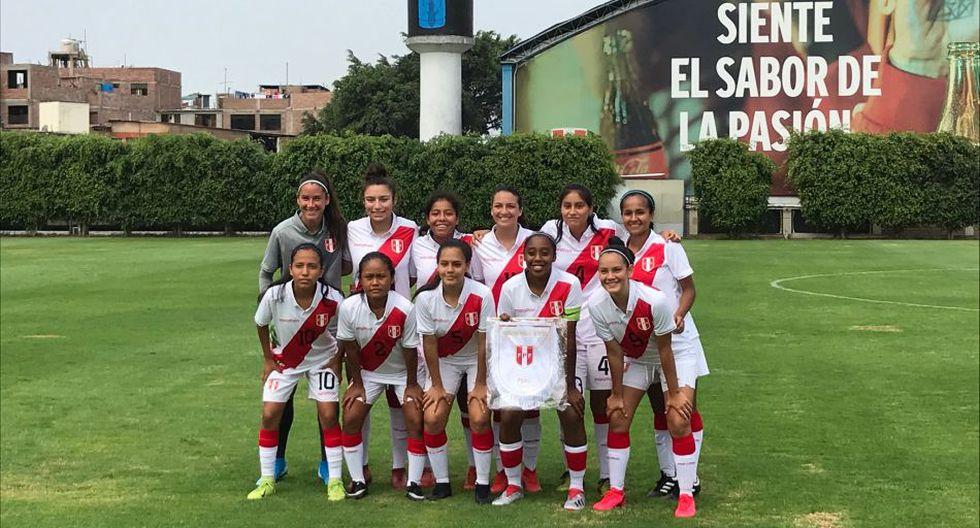 La Selección Peruana Femenina Sub 20 estuvo cerca de clasificar al Mundial en 2006. (Foto: @LaRoja)