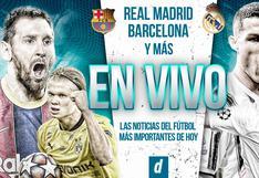 Resumen de las noticias de fútbol más importantes del día: Real Madrid, Barcelona y más