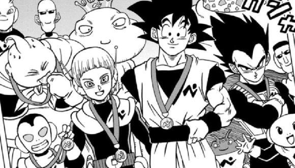 Merus en la ceremonia de celebración por la derrota de Moro (Dragon Ball Super)