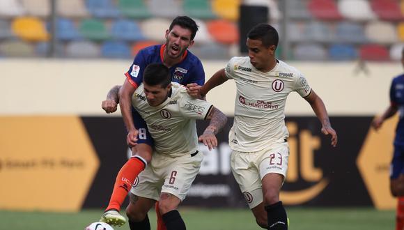 Jesús Barco y Armando Alfageme no jugarán el duelo ante César Vallejo. (GEC)