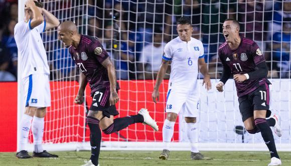México se impuso 1-0 a El Salvador en la última fecha del Grupo A de la Copa Oro. (Foto: AFP).