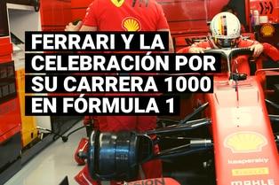Conoce la forma en que Ferrari festejará su carrera 1000 en Fórmula 1
