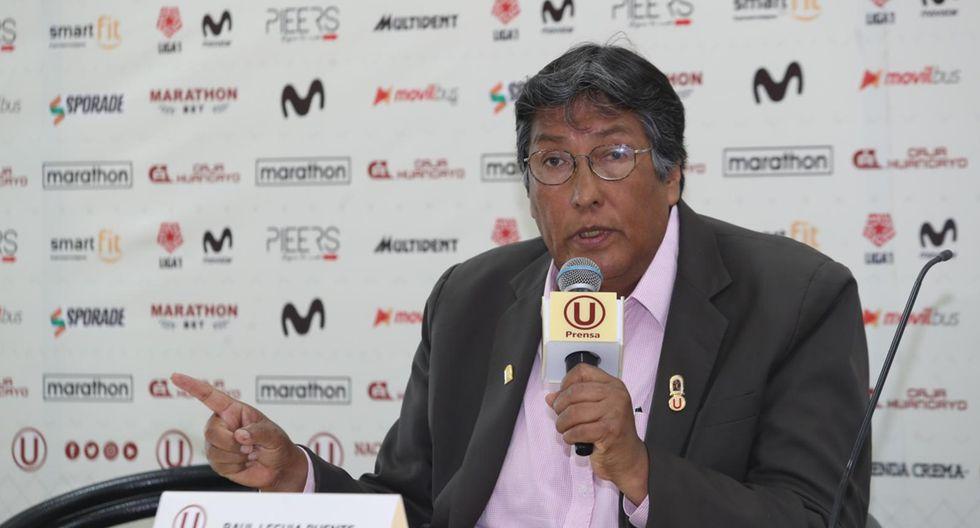 Raúl Leguía, se manifestó, sobre la resolución a favor de Gremco. (Foto: Rolly Reyna / GEC)