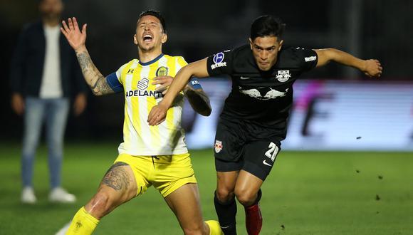 Bragantino eliminó a Rosario Central de la Copa Sudamericana. (Foto: Conmebol)