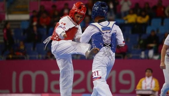 William Fernández se quedó con la medalla de bronce en taekwondo en los Parapanamericanos 2019. (Foto: Jesús Saucedo)