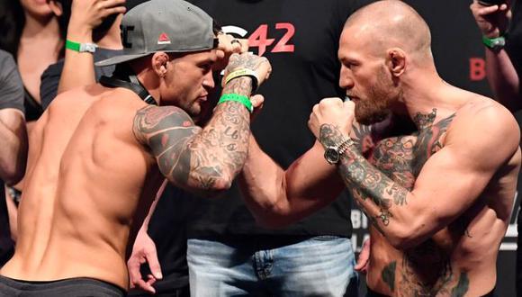 El plan de Dustin Poirier para vencer a Conor McGregor en el UFC 257. (UFC)