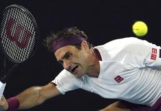 Su peor puesto en los últimos cuatro años: Roger Federer bajó a la séptima casilla del ranking de la ATP