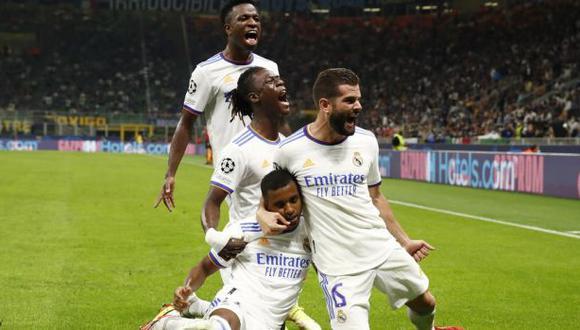 Real Madrid vs. Inter en el Giuseppe Meazza por la Champions League. (Foto: Reuters)