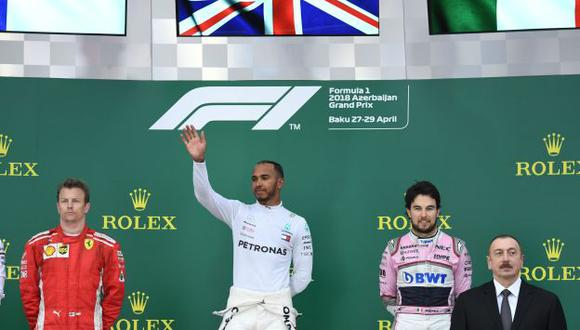 Lewis Hamilton ganó su primera carrera de la temporada. (Foto: AFP)