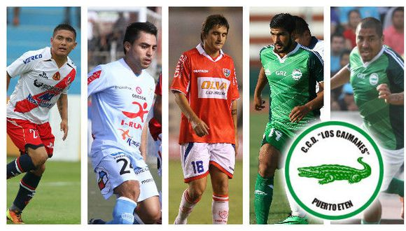 'Machito' Gómez, Carlos Barrena y el uruguayo Gerardo Vonder Pütten son algunos de sus nuevas figuras para la Segunda División. (Ilustración Depor)