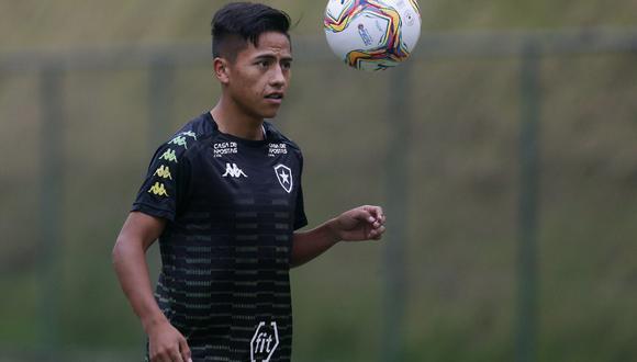 Alexander Lecaros aún no debuta en Botafogo. (Foto: Difusión)