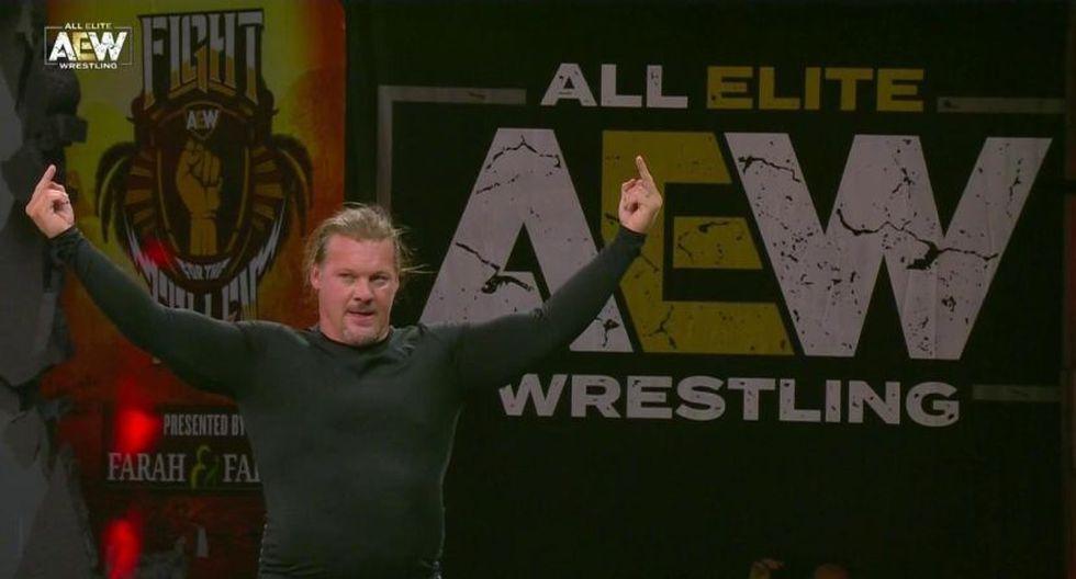 Chris Jericho peleará en All Out por el título mundial de la AEW. (AEW)