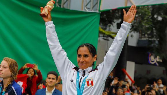 Gladys Tejeda fue la primera en obtener una medalla de oro para el Perú. (Foto: Andina)
