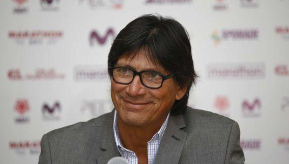 Ángel Comizzo destacó la gran actuación de Anthony Osorio en el duelo ante Ayacucho FC. (Foto: GEC)