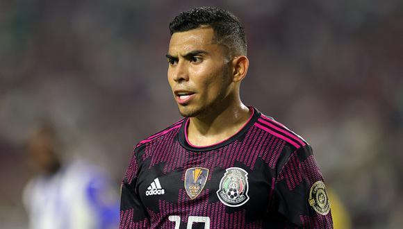 Orbelín Pineda juega como volante en el Cruz Azul de la Liga MX 2021 (Foto: Getty Images)