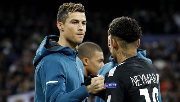 Cristiano Ronaldo y Neymar terminan contrato en sus clubes en verano de 2022. (AFP)