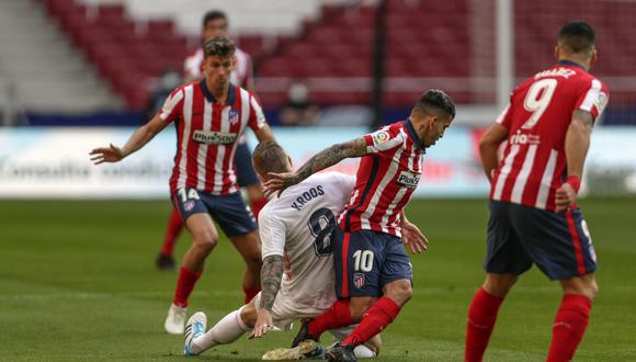 Real Madrid vs. Atlético de Madrid en el Wanda Metropolitano por LaLiga. (Foto: Agencias)