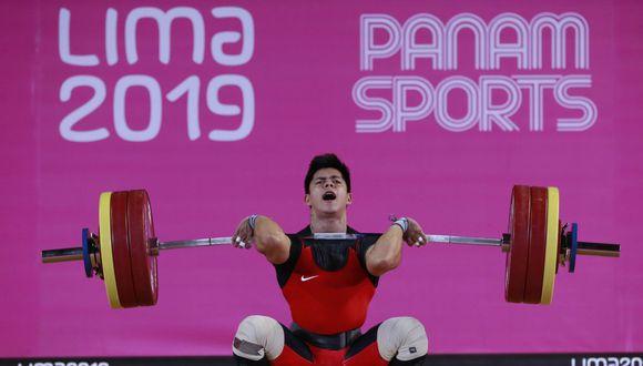 El peruano Luis Bardalez competirá en el Grand Prix de Lima. Él se quedó con la medalla de bronce en Lima 2019, en la categoría 67 kilos. (Lima 2019)