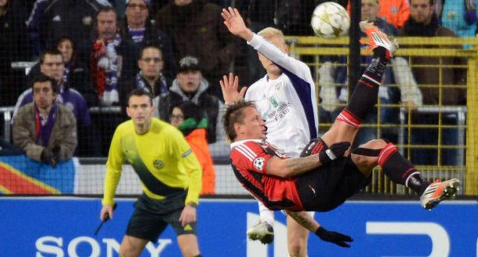 Philippe Mexes (vs Anderlecht) - 2012 (Getty)